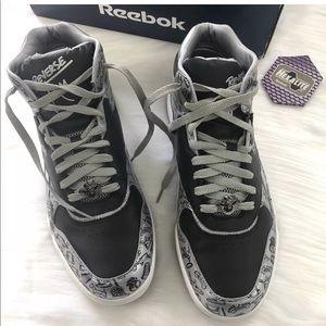 d64fd99350a7df Reebok Shoes - Reebok Monopoly reverse jam mid sneakers